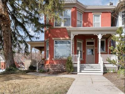 Salt Lake City Single Family Home For Sale: 953 E 3rd Ave
