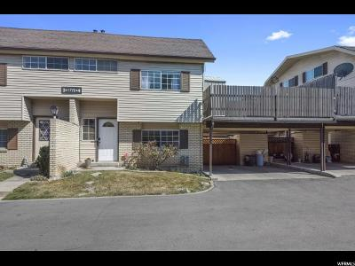 West Valley City Townhouse For Sale: 1779 W Homestead Farms Ln S #4