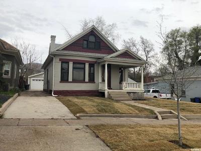 Salt Lake City Single Family Home For Sale: 120 N L St E
