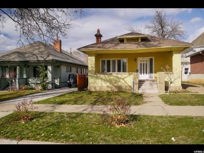 Ogden Single Family Home For Sale: 672 E 24th St S