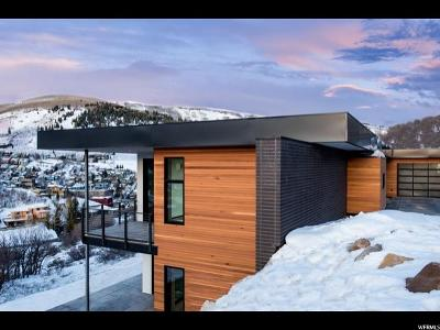 Park City Single Family Home For Sale: 725 Mellow Mountain Rd