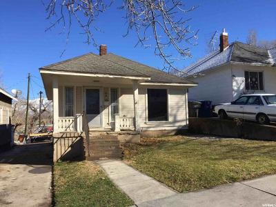 Ogden Single Family Home For Sale: 430 E 20th St S