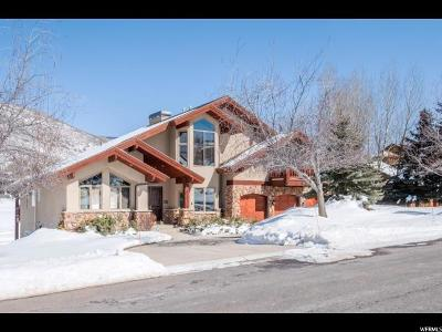 Park City Single Family Home For Sale: 3504 W Homestead Rd