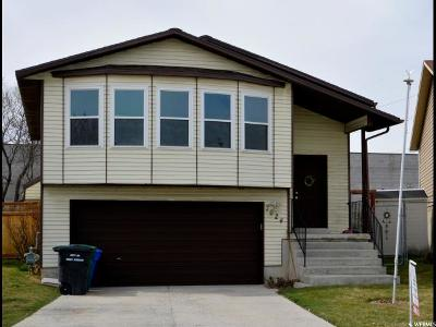 West Jordan Single Family Home For Sale: 7624 S Sunrise Pl W