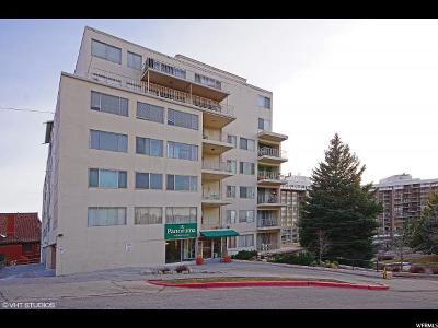 Salt Lake City Condo For Sale: 8 E Hillside Ave N #403