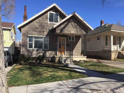 Ogden Single Family Home For Sale: 428 E 20th St S