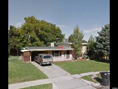Cottonwood Heights Single Family Home For Sale: 7232 S Pippin Drive Dr