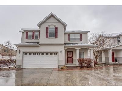 West Jordan Townhouse For Sale: 6801 W Tupelo Ln S