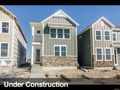 Lehi Single Family Home For Sale: 3408 W Waterbury Way N