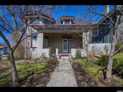 Salt Lake City Single Family Home For Sale: 1103 E Second Ave