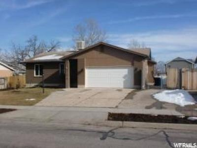 Taylorsville Single Family Home For Sale: 6317 S Lauritzen W