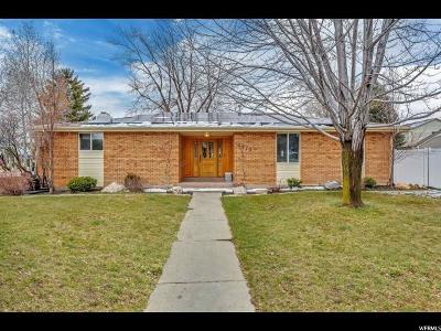 Cottonwood Heights Single Family Home For Sale: 2975 E Cardiff Rd S