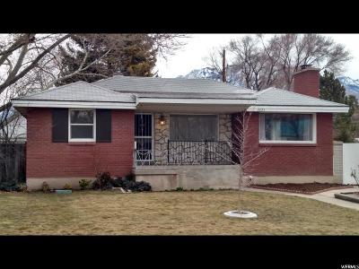 Millcreek Single Family Home For Sale: 4095 S 1175 E