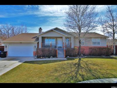 West Jordan Single Family Home For Sale: 4327 W 9380 S
