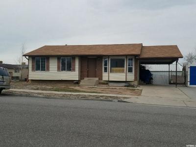 Salt Lake City Single Family Home For Sale: 5558 W Westslope Dr S