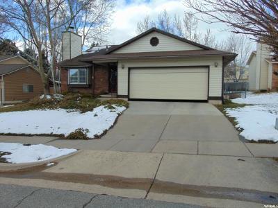 Layton UT Single Family Home For Sale: $239,900