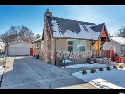 Salt Lake City UT Single Family Home For Sale: $459,900