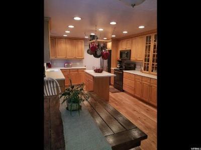 Brigham City Single Family Home For Sale: 165 Skyline Dr