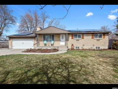 Holladay Single Family Home For Sale: 1575 E Fieldcrest Ln. S