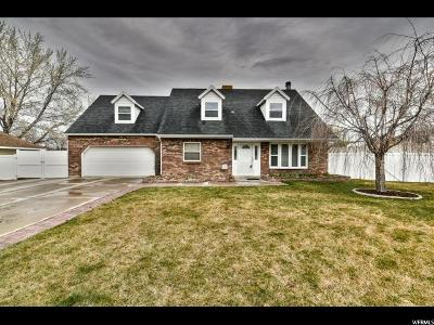 Murray Single Family Home For Sale: 928 W Sunberry Dr S