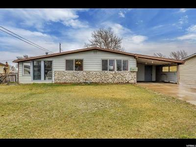 Davis County Single Family Home For Sale: 184 W 1075 N