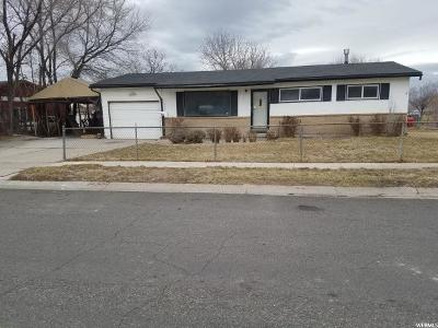 West Valley City Single Family Home For Sale: 4687 S Vassar St W