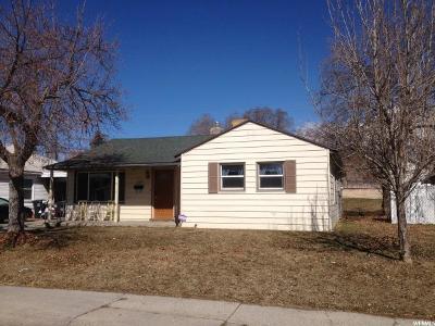 Provo UT Single Family Home For Sale: $250,000