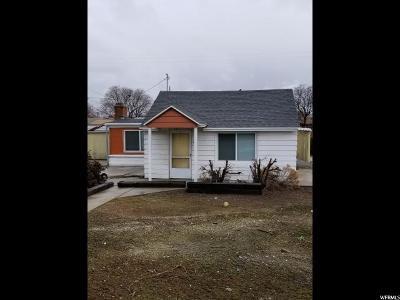 Salt Lake City UT Single Family Home For Sale: $163,500