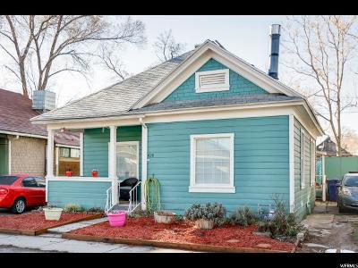 Salt Lake City UT Single Family Home For Sale: $275,000
