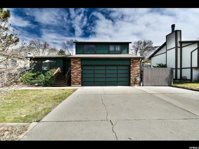 Cottonwood Heights Single Family Home For Sale: 7143 S Watermill Way