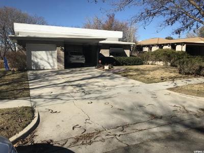 Salt Lake City Single Family Home For Sale: 1902 S Laurelhurst Dr E