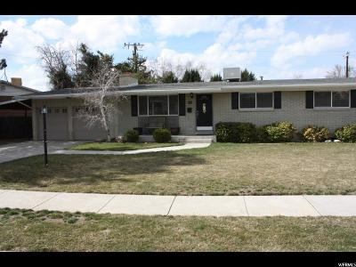 Cottonwood Heights Single Family Home For Sale: 2105 E Rolling Knolls Way