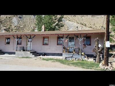 Helper Multi Family Home For Sale: 640 Railroad Ave