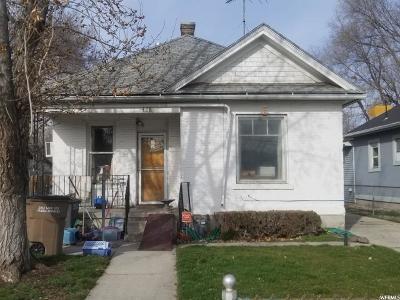 Salt Lake City Single Family Home For Sale: 428 S 1000 W