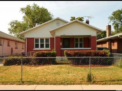 Salt Lake City UT Single Family Home For Sale: $308,000