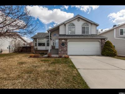 West Jordan Single Family Home For Sale: 6333 S Castleford Dr W