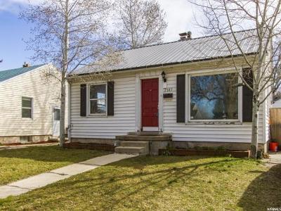 Salt Lake City UT Single Family Home For Sale: $315,000