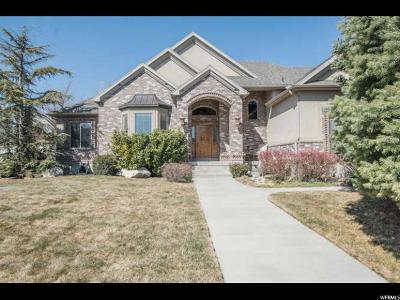 South Jordan Single Family Home For Sale: 3382 W Willow Valley Rd S