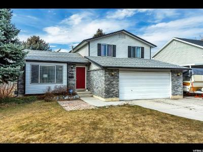 Murray Single Family Home For Sale: 5348 S Majestic Village Cir