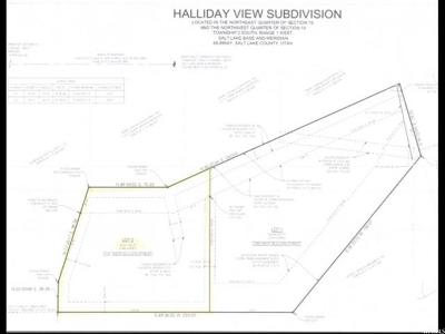 Murray Residential Lots & Land For Sale: 1291 W Bullion