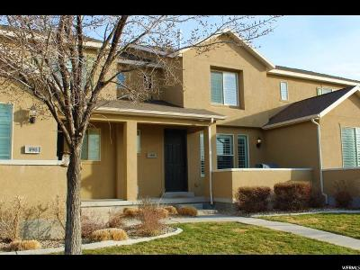 Stansbury Park Townhouse For Sale: 488 E Brigham Rd N