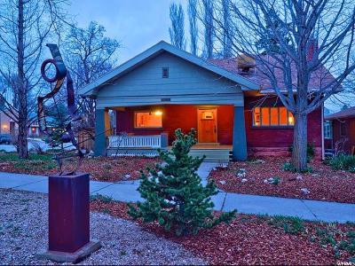 Salt Lake City UT Single Family Home For Sale: $545,000