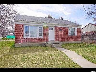 Salt Lake City UT Single Family Home For Sale: $374,990