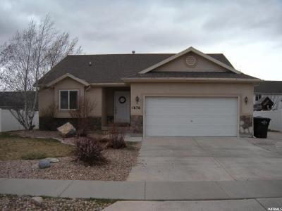 Spanish Fork Single Family Home For Sale: 1676 S 2520 E
