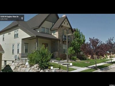 Lehi Single Family Home For Sale: 5351 N Eagles View Dr