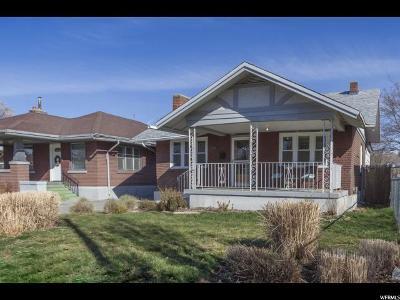 Salt Lake City UT Single Family Home For Sale: $349,900