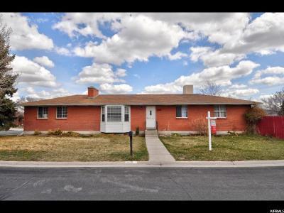 South Jordan Single Family Home For Sale: 9691 S Stonehaven St