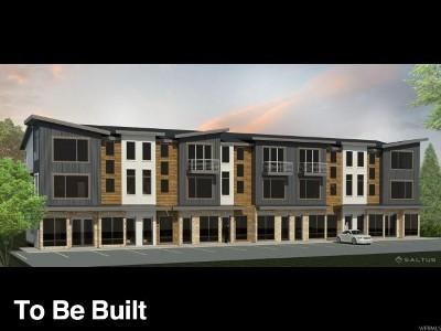 Bluffdale Townhouse For Sale: 582 W Lewski Ln #C-3