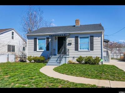 Salt Lake City UT Single Family Home For Sale: $367,900