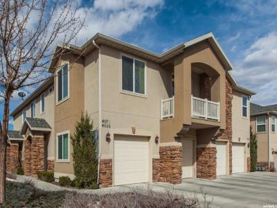 West Jordan Townhouse For Sale: 4666 W Greensand Dr